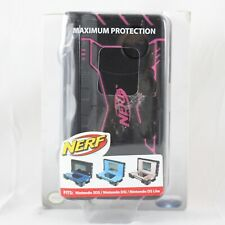 Nerf Nintendo 3DS DSi DS Lite Video Game Protector Maximum Protection Black Pink