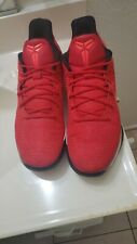 Nike Kobe AD Basketball Shoes Size 12 852425-608 Red White