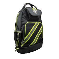 Tool Bag Backpack Tradesman Pro High Visibility Storage Zipper Pocket 14-3/8 in.