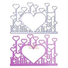 Heart DIY Metal Cutting Dies Stencil Scrapbooking Die Cut Paper Craft Decor Gift