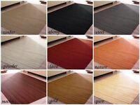 Bamboo Carpet Massive Bamboo Struts 9 Colours 20 Sizes Non-Slip Latex Backing