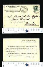A.BINAZZI & C.-Fabbr.Sparterie e tess.div.-CAPOSTRADA (PT)-A BRUNERI -BS- 26684
