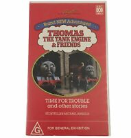 Thomas The Tank Engine And Friends VHS Time For Trouble 1991 Video Tape