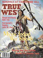 True West Sept.1992 Farncomb Hill Colorado Gold Rath City Texas Red Ryder Comic