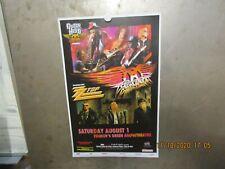 Aerosmith w/ Zz Top Fiddler's Green Denver 2009 Show Poster Steven Tyler