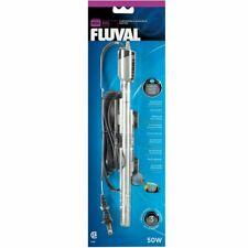 (CY)  NEW!  FLUVAL M50 50W 15 GAL PREMIUM SLIM SUBMERSIBLE AQUARIUM HEATER