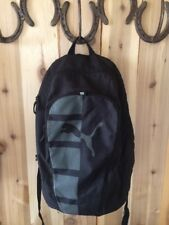 Puma sport Student Book Bag Backpack School Lifestyle Skate Basketball Black