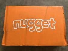 In Hand Nugget Comfort Kids Couch COVER SET Lagoon Blue Limited Edition