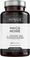 Maca Noire du Pérou 24000 mg par dose avec L-Arginine, Zinc+Vitamines B6 B12
