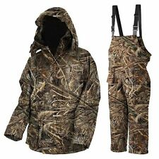 Prologic Max5 Camo Thermo Suit Comfort Fishing 100% Waterproof Combo *All Sizes*