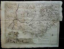 Carta geografica del Governo della Provenza. TIRION, Isaac. Albrizzi 1740