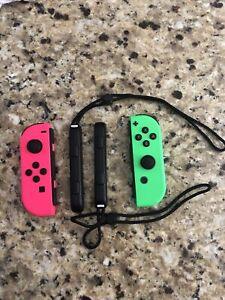 Nintendo Switch Joy-Con Controller Pair - Neon Pink/Neon Green