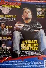 Power Wrestling Februar 02/2010 WWE WWF TNA + 4 Poster (Royal Rumble, Hardy)