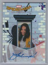 2017 Laura Harrier Upper Deck Marvel Spider-Man Homecoming As Liz Autograph Auto