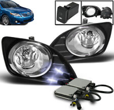 2010-2011 TOYOTA CAMRY BASE LE XLE CLEAR FRONT LOWER BUMPER FOG LIGHT+10000K HID