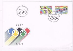Olympic Games Barcelona  Finland FDC 1992