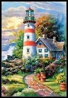 Chart Needlework Craft DIY - Counted Cross Stitch Patterns - Lighthouse