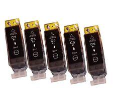 5 schwarz Patrone für Canon PIXMA IP5200 IP5300 MP970 IP4500X IP4200X PGI5 CLI8