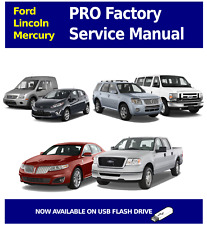 2000 - 2002 FORD LINCOLN MERCURY PRO Factory Service and Repair Manual OEM USB