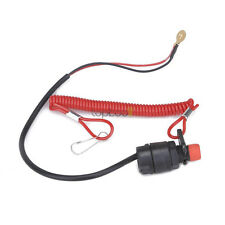 Boat Engine Motor Kill Stop Switch & Safety Tether Lanyard for Quad Pit Dirt ATV