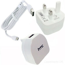 HTC TC B270 MAINS CHARGER + USB CABLE FOR HTC ONE M7 M8 M9 DESIRE S SENSATION XL