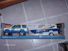Nylint NAPA Pressed Steel SUV With Boat Trailer /Boat Motor Works