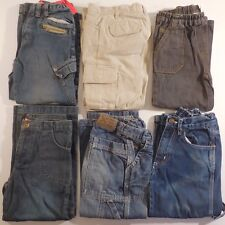 6 pantalons jeans enfant 5-6 ans RIVER WOODS OKAOU TEXBASIC TED WALKINS N3349