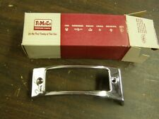 NOS OEM Ford 1953 Park Light Bezel Housing Trim Chrome LH