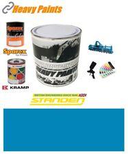 More details for standen harvester blue paint high endurance enamel paint 1 litre tin