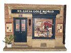 ST. LUCIA GOLF WORLD Diorama Sculpture—not Michael Garman
