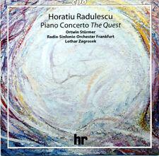 "Horatio RADULESCU Piano Concerto op 90 ""The Quest"" CD CPO Sturmer Zagrosek OOP"