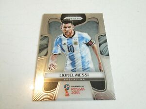 PANINI PRIZM WORLD CUP 2018 LIONEL MESSI MINT NEUVE