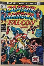 CAPTAIN AMERICA #173 (1974) Marvel Comics VG+ X-Men appearance