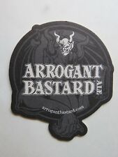Beer Brewery Coaster ~ STONE Brewing Co Arrogant Bastard Ale ~ Gargoyle Design