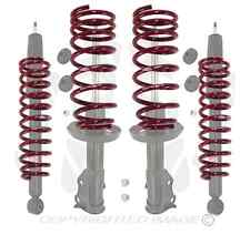 KYB 4 STRUTS SHOCKS & LOWERED SPRINGS HONDA FIT 07 - 08 GD3 333474 333475 343487