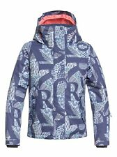 Roxy Jetty Snow Jacket - Youth Girls - Crown Blue Freespace (BQY5) - 14/X-Large
