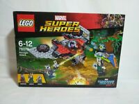 Lego Marvel Super Heroes Ravager Attack (76079) sealed BNIB retired - Ex Display