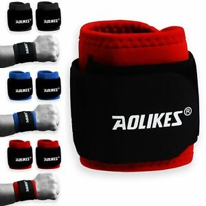 BodyRip Weightlifting Wrist Support Pair Flexible Grip Adjustable Neoprene Gym