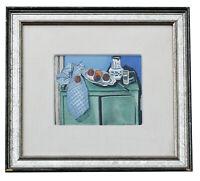1929 Henri Matisse Le Buffet Original Lithograph Pochoir Hand Painted COA Signed