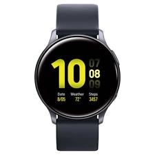 Samsung Galaxy Active 2 Smartwatch 40mm Black SM-R830NZKCXAR Bundle