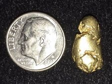 Fantastic 4.1 Gram Natural Gold Nugget Bullion Atlin, British Columbia