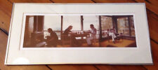 Vtg 1977 Shenandoah Valley Mountains Cabin Gay Couple Writers Framed Photograph