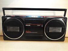 Philips D8040  Radio Cassette Recorder Kassettenrecorder Ghettoblaster Vintage