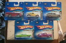 Complete Set Of 5 Boxed Red Line Hot wheels