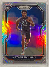 2020 Prizm Jaylon Johnson Silver #306 Chicago Bears RC SP