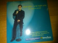 ELTON JOHN - THE INDEPENDENT ON SUNDAY 2001 PROMO UK 'ONE NIGHT ONLY' CD SAMPLER