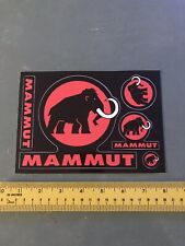 Mammut Stickers/decals sheet of 5 Skiing