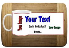 Personalised Your Own Unique Design  Mug  Cup Any Text, Photo, Logo and Images