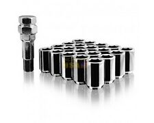 20pcs silver 12x1.25mm Spline wheel Lug Nuts for Infiniti Subaru BRZ Impreza