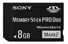 Tarjetas de memoria Sony Memory Stick PRO Duo para cámaras de vídeo y fotográficas